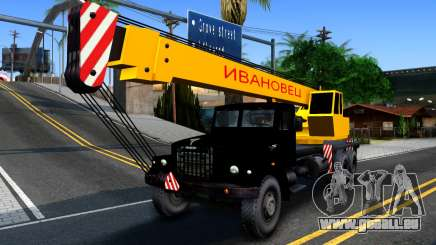 KrAZ-257-LKW-Kran für GTA San Andreas