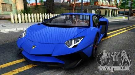 Lamborghini Aventador SV 2015 für GTA San Andreas