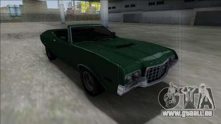 1972 Ford Gran Torino Cabrio pour GTA San Andreas