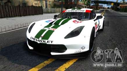 Chevrolet Corvette C7R GTE 2014 pour GTA San Andreas
