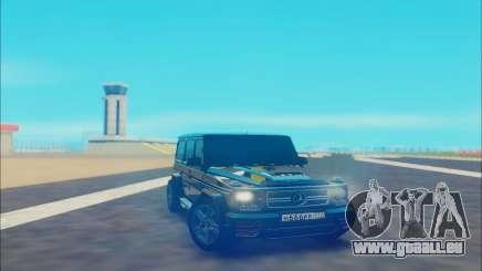Mercedes-Benz G500 black für GTA San Andreas