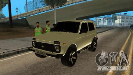 Vaz 2121 Niva Armenian pour GTA San Andreas