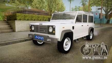 Land Rover Defender 110 Policija Undercover für GTA San Andreas