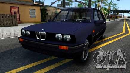 BMW 3-er E30 Touring SA Style pour GTA San Andreas