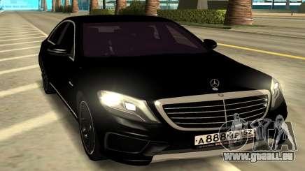 Mercedes-Benz S63 AMG für GTA San Andreas