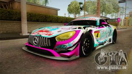 Mercedes-Benz AMG GT3 Goodsmile Racing 2017 für GTA San Andreas