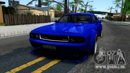 Dodge Challenger SRT8 Liberty Walk pour GTA San Andreas