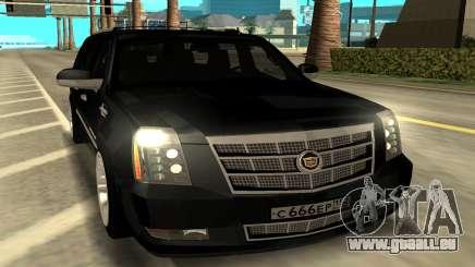 Cadillac Escalade Platinum pour GTA San Andreas