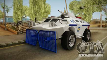 Turkish Police APC with Water Cannon für GTA San Andreas