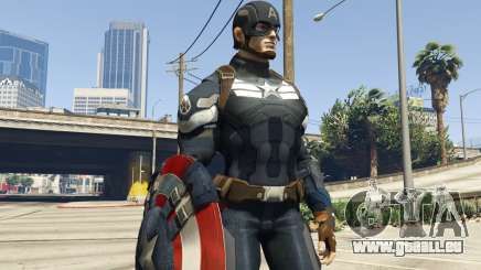 Captain America Shield Throwing Mod für GTA 5