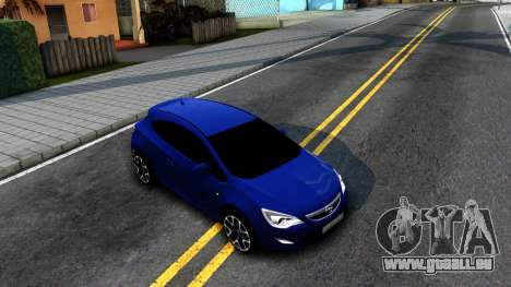 Opel Astra GTC pour GTA San Andreas vue de droite