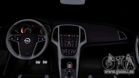 Opel Astra GTC pour GTA San Andreas vue intérieure