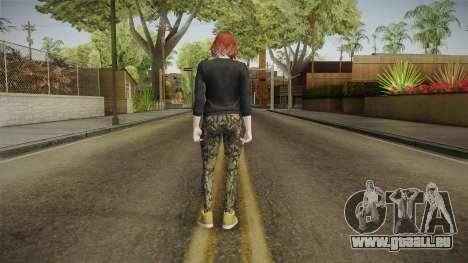 GTA Online: Skin Female 2 pour GTA San Andreas troisième écran