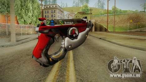 Overwatch 9 - Tracers Pulse Gun v1 pour GTA San Andreas deuxième écran