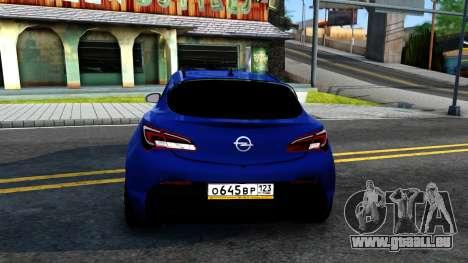 Opel Astra GTC pour GTA San Andreas sur la vue arrière gauche