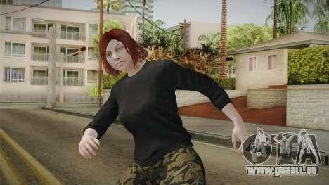 GTA Online: Skin Female 2 pour GTA San Andreas