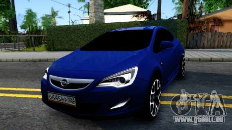 Opel Astra GTC pour GTA San Andreas