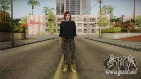 GTA Online: Skin Female 2 pour GTA San Andreas deuxième écran
