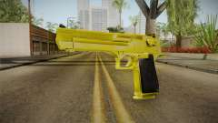 Gold Desert Eagle pour GTA San Andreas
