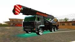 KamAZ 65117 Ivanovic für GTA San Andreas