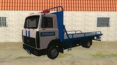 MAZ Abschleppwagen Polizei für GTA San Andreas