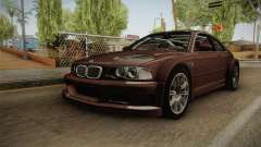 BMW M3 E46 2005 NFS: MW Livery für GTA San Andreas