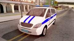 Mercedes-Benz Vito W639 Russian Police