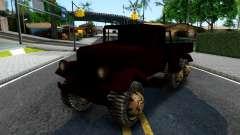 Broken Military Truck