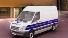 Mercedes-Benz Sprinter Croatian Police Van für GTA San Andreas