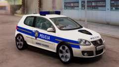 Golf V Kroatischen Polizei Auto für GTA San Andreas