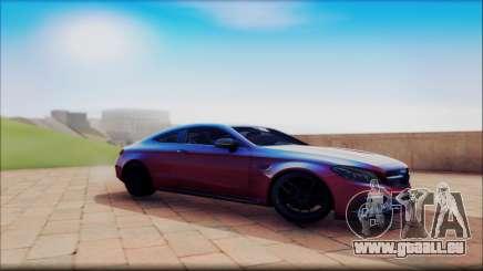 Mersedes-Benz C63 Coupe Tuning für GTA San Andreas