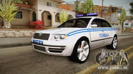 Skoda Superb Serbian Police v2 pour GTA San Andreas