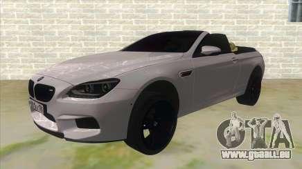 BMW M6 F13 Cabrio pour GTA San Andreas