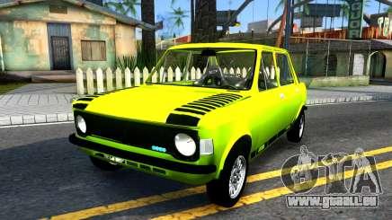 Fiat 128 gelb für GTA San Andreas
