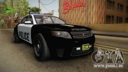 GTA 5 Cheval Fugitive Police IVF für GTA San Andreas