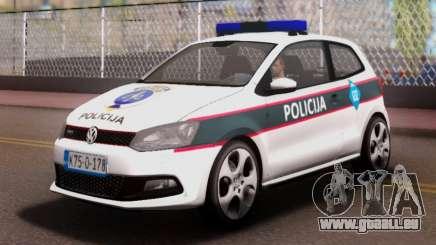 Volkswagen Polo GTI BIH Police Car für GTA San Andreas