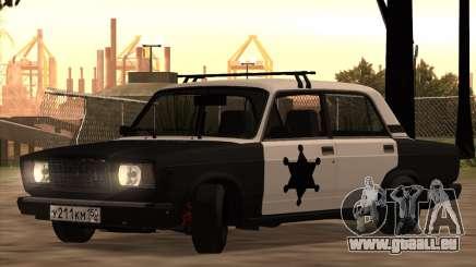 Shérif CHASSEUR 2107 pour GTA San Andreas