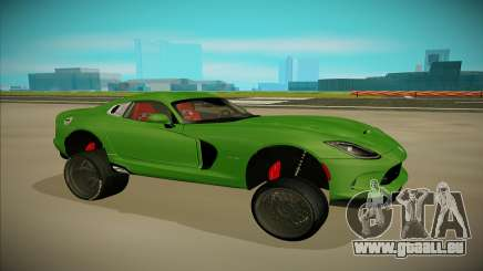 Dodge Viper GTS Off Road pour GTA San Andreas