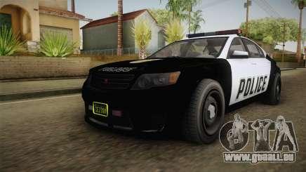 GTA 5 Cheval Fugitive Police für GTA San Andreas