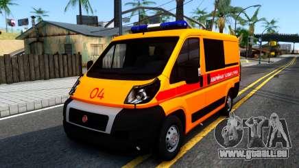 Fiat Ducato Notfall für GTA San Andreas