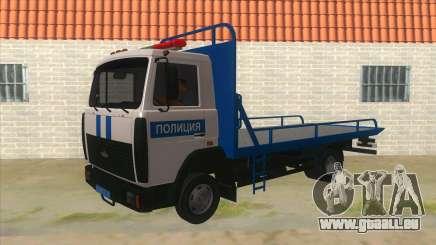 MAZ camion de Remorquage de la Police pour GTA San Andreas