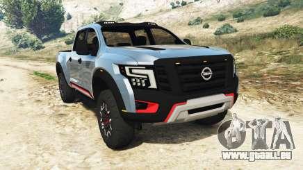 Nissan Titan Warrior Concept 2016 pour GTA 5