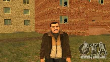 Moustachus Nico pour GTA San Andreas