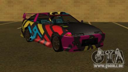 URANUS MFR 4th paintjob pour GTA San Andreas