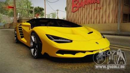 Lamborghini Centenario Roadster für GTA San Andreas