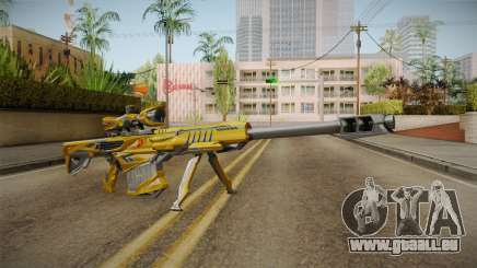 Cross Fire - M82A1 Iron Shark Noble Gold für GTA San Andreas
