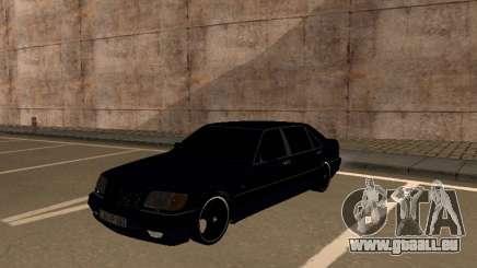 Mercedes-Benz W140 Armenian pour GTA San Andreas