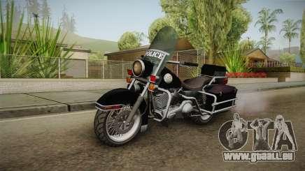 GTA 5 Police Bike SA Style pour GTA San Andreas