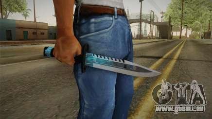 M9 Bayonet BlueSparks für GTA San Andreas