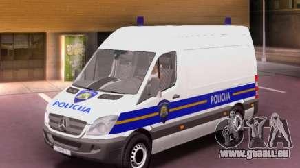 Mercedes-Benz Sprinter Croatian Police Van pour GTA San Andreas
